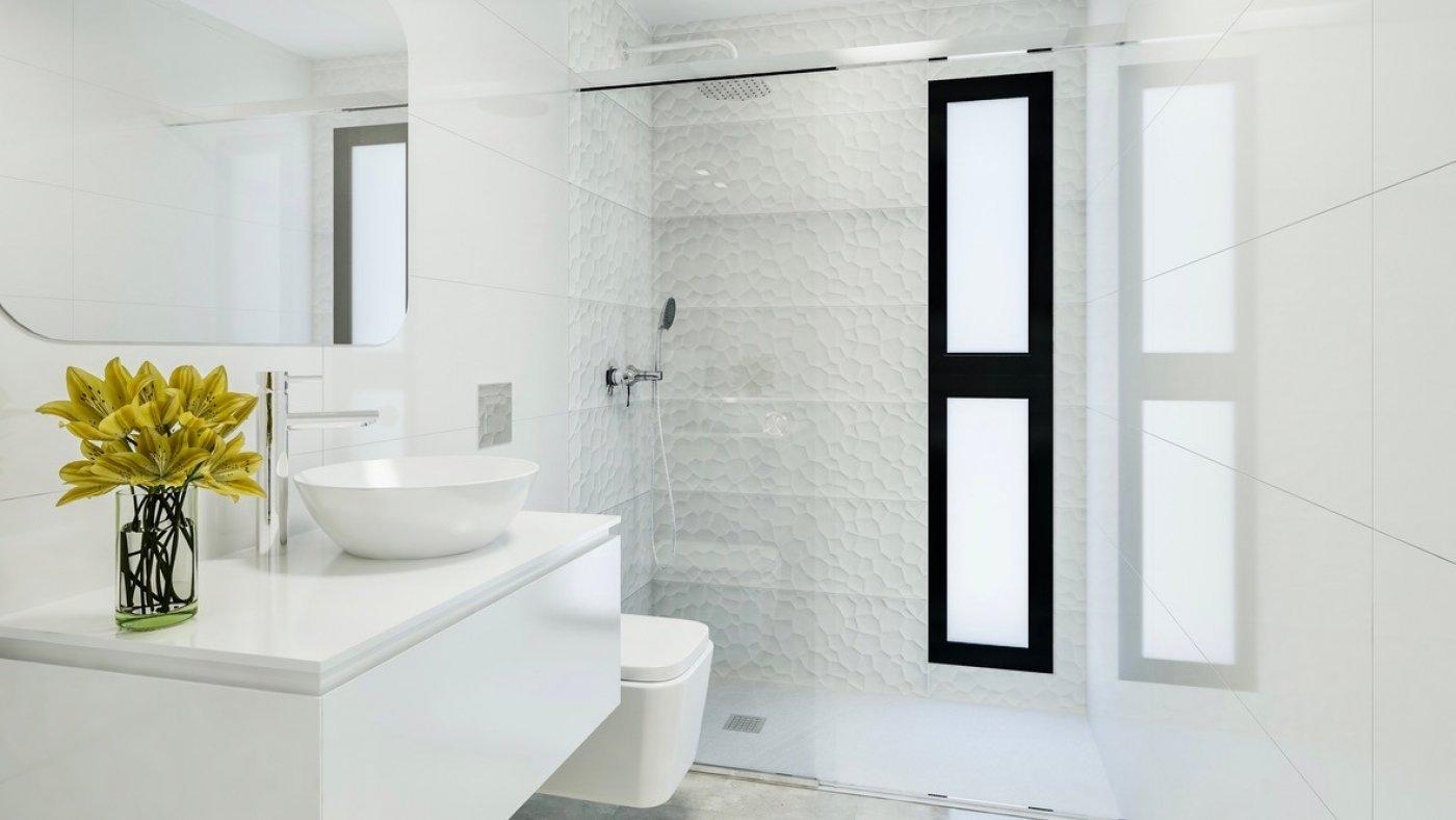 Galleribillede 5 of Luksus villa med egen pool, 3 badevær., kælder med garage og tagterrasse på La Finca Golf Resort