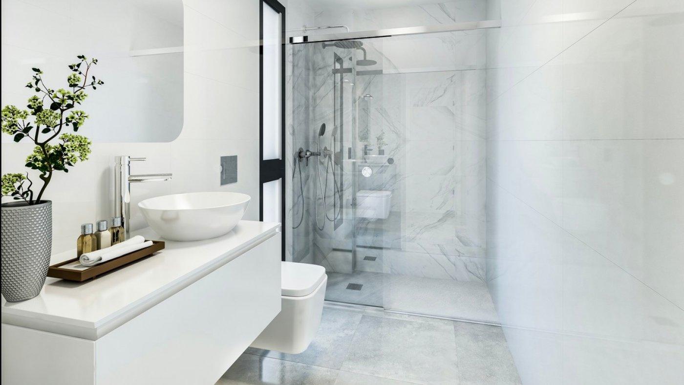 Galleribillede 7 of Luksus villa med egen pool, 3 badevær., kælder med garage og tagterrasse på La Finca Golf Resort