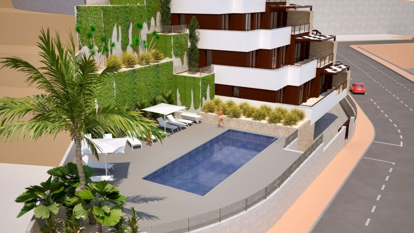 Galleribillede 10 of Fantastisk udsigt fra 36 m2 terrasse. luksus 4 vær. lejlighed, 2 badevær., kun 5 min gang fra strand