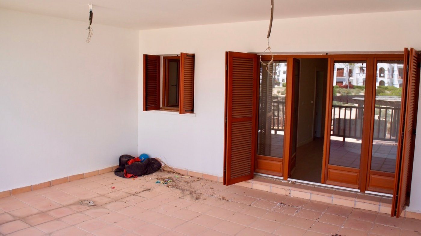 Gallery Image 1 of First line golf bargain priced 1st floor, 2 bed and 2 bath apartment in lovely Golf Resort