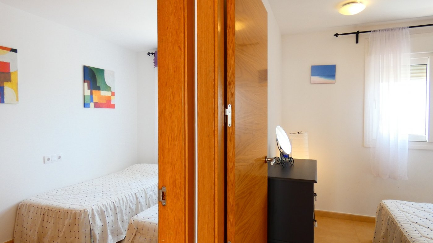 Gallery Image 7 of North Facing 2 Bed Apartment Overlooking the Communal Garden and Pool in Jardin 1, CDA