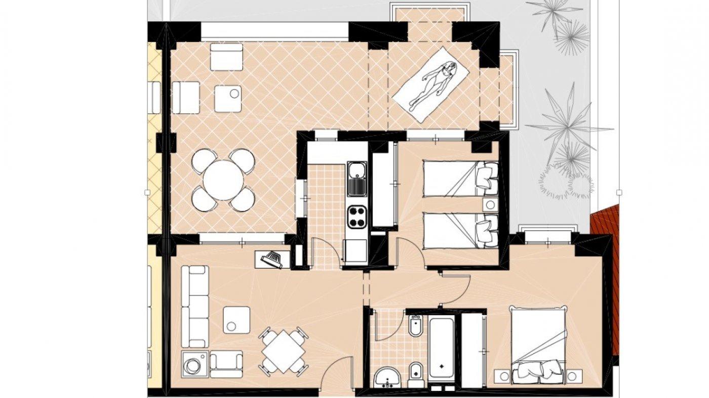 Imagen 4 Apartamento ref 3297 para sale en El Valle Golf Resort España - Quality Homes Costa Cálida