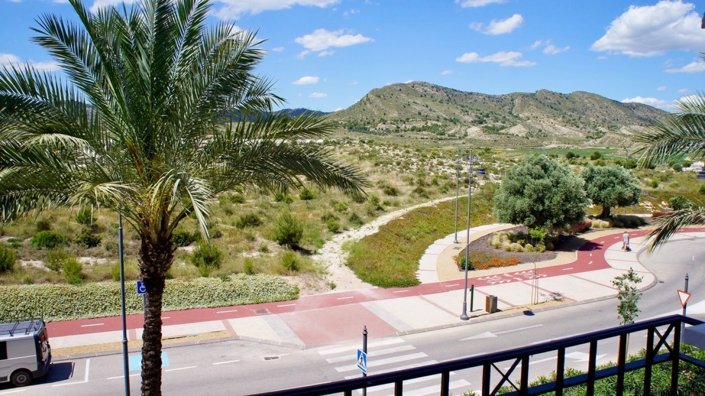Gallery Image 27 of Fantastic views over the golf and the mountains from 35 m2 terrasse.