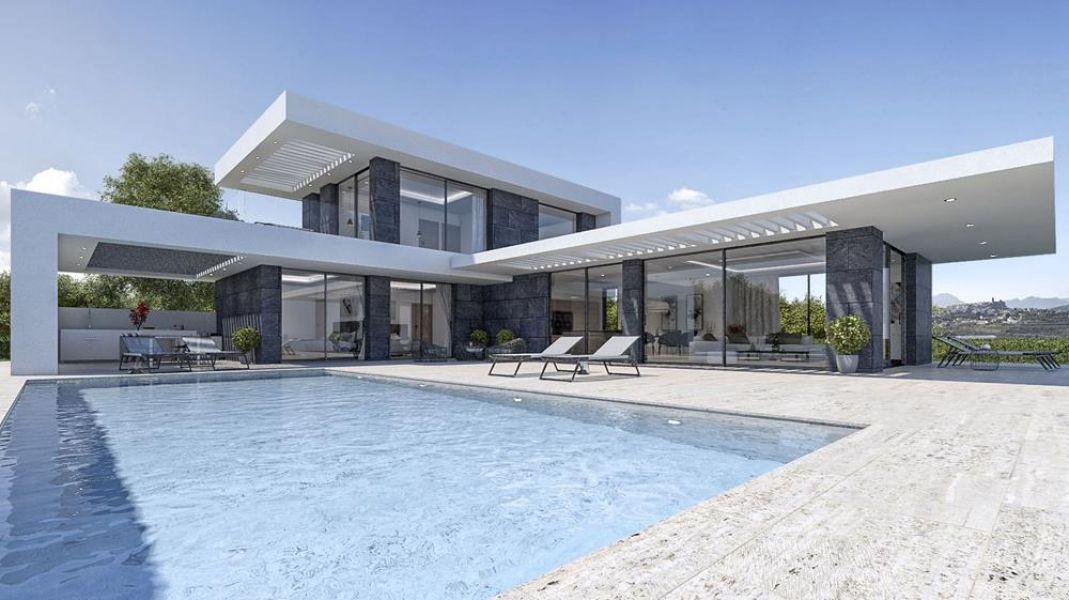 Nieuwbouw villa in Javea