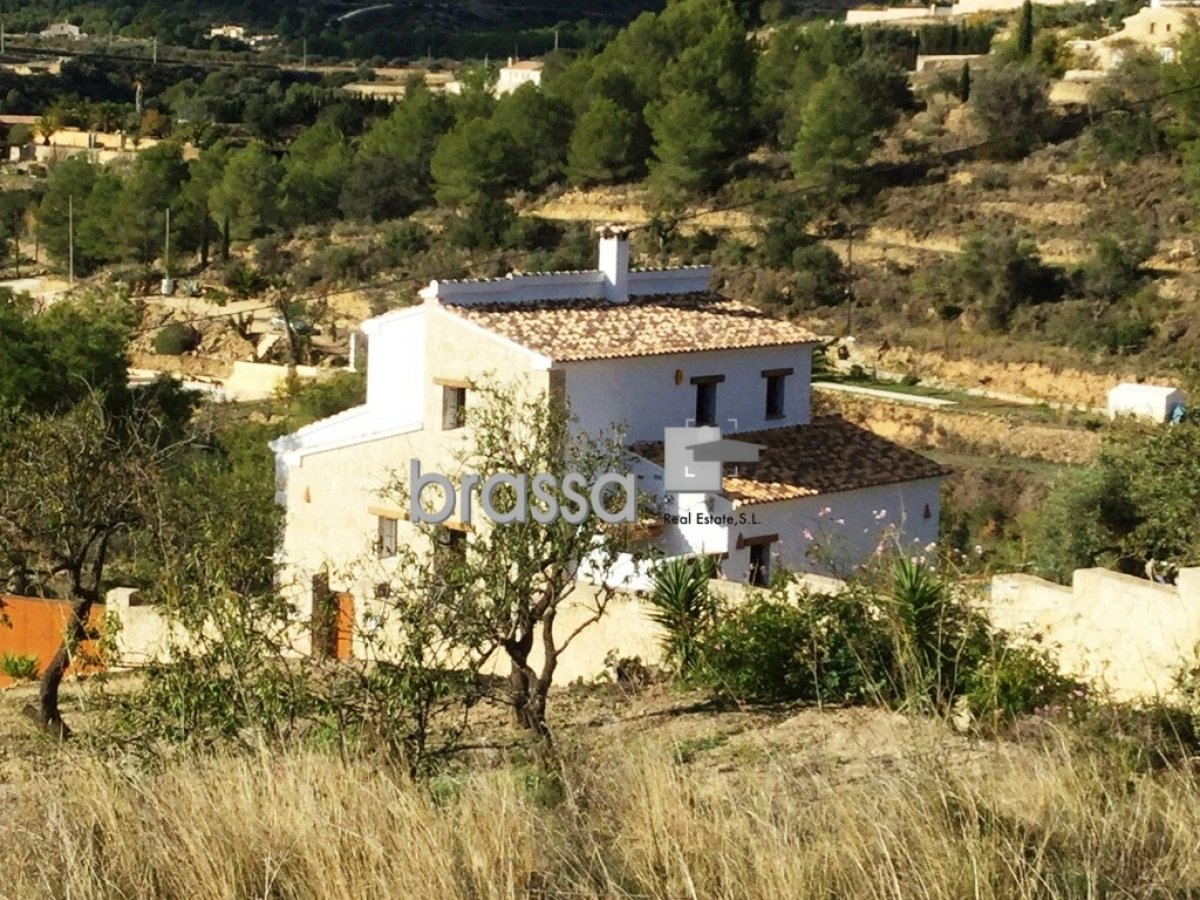 Country House in Benissa Benissa Costa