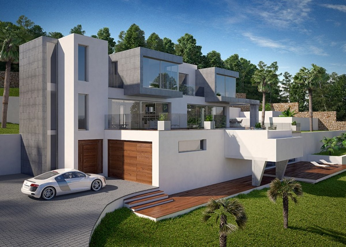 New Build in Calpe Empedrola