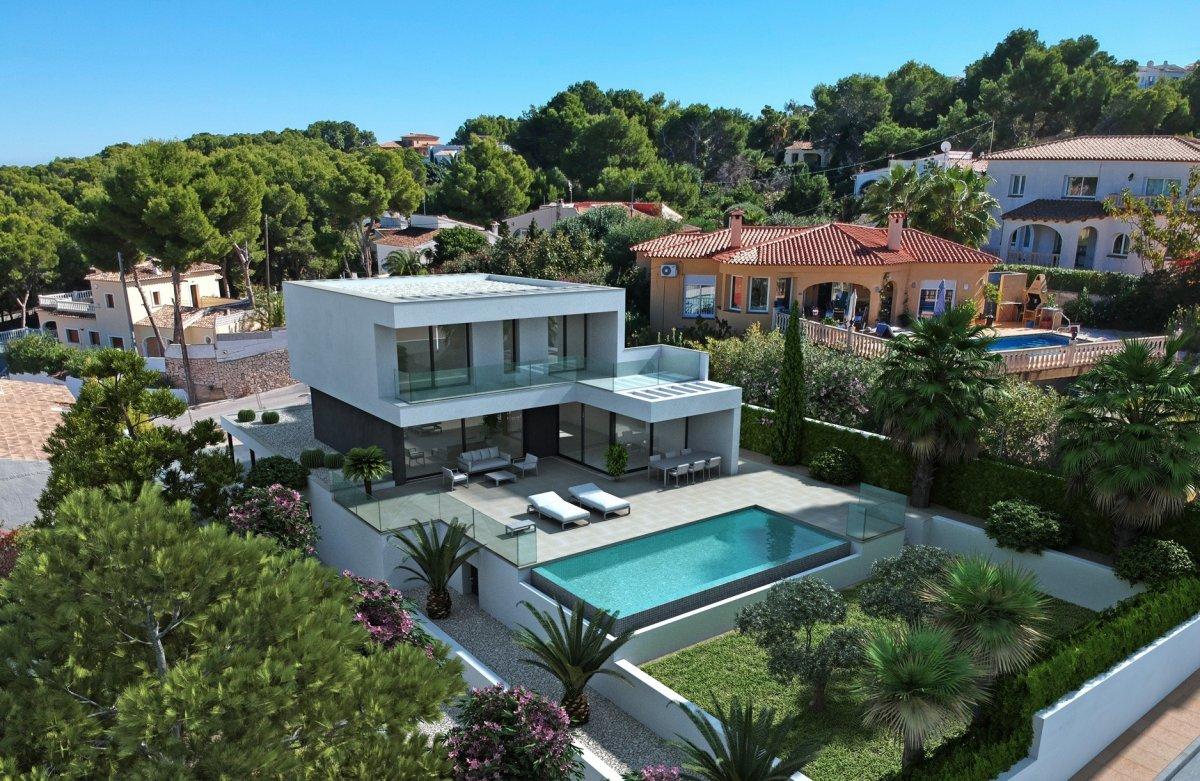 New Build in Moraira Cap blanc