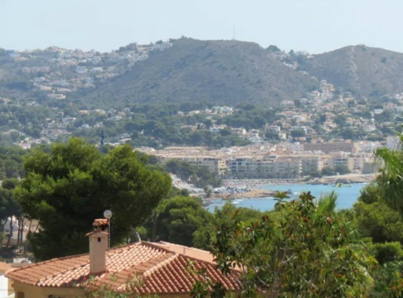 Villa in Moraira Cap blanc