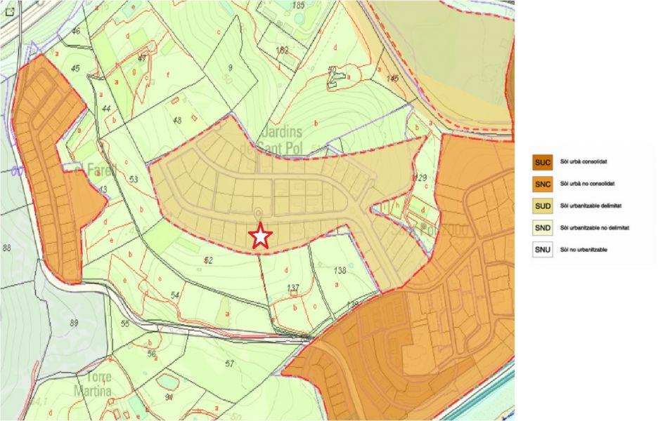 terreno-urbano en sant-pol-de-mar · avda-pere-coromines 235000€