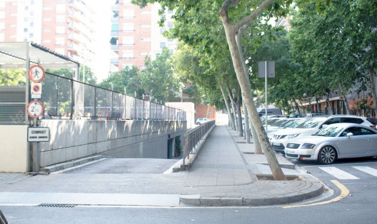 garaje en barcelona · les-corts 6500€