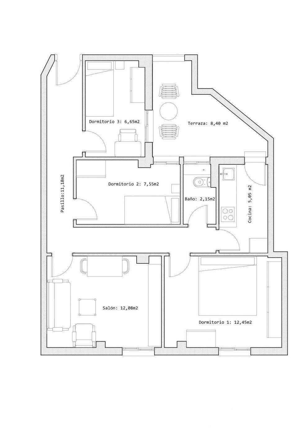 Venta de piso en zaragoza - imagenInmueble21