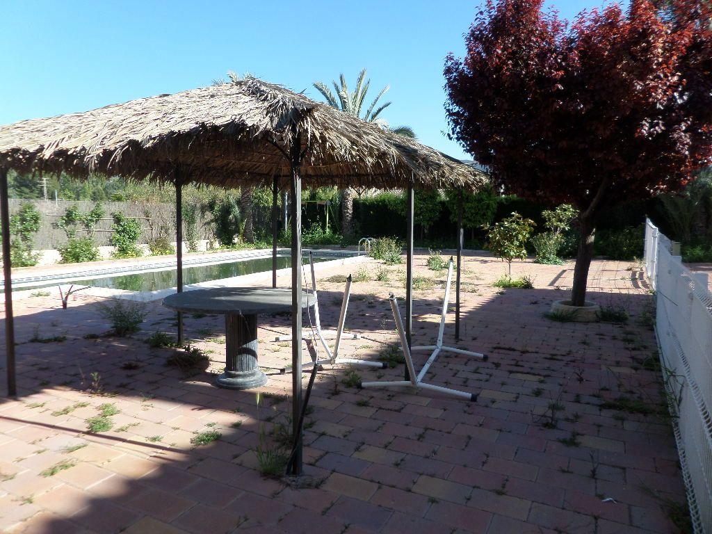 VENTA CHALET EN EL PALMAR-ALJUCER, PARCELA DE 3.400 M2., 8 DORMITORIOS, 4 BAÑOS, PISCINA