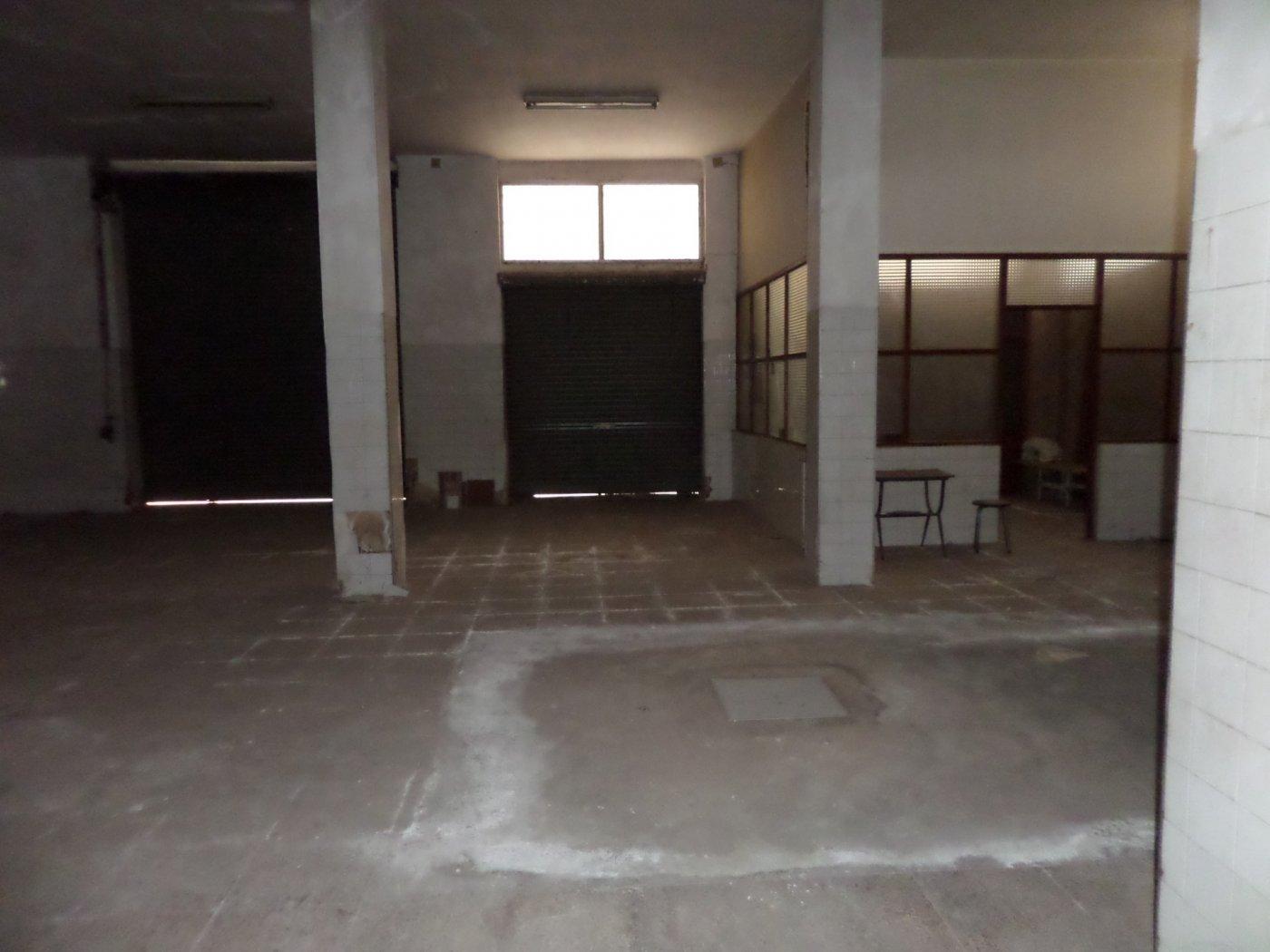 VENTA LOCAL COMERCIAL 853 M2. APROX. ZONA AVD. MIGUEL DE CERVANTES, DIÁFANO, SIN ARREGLAR