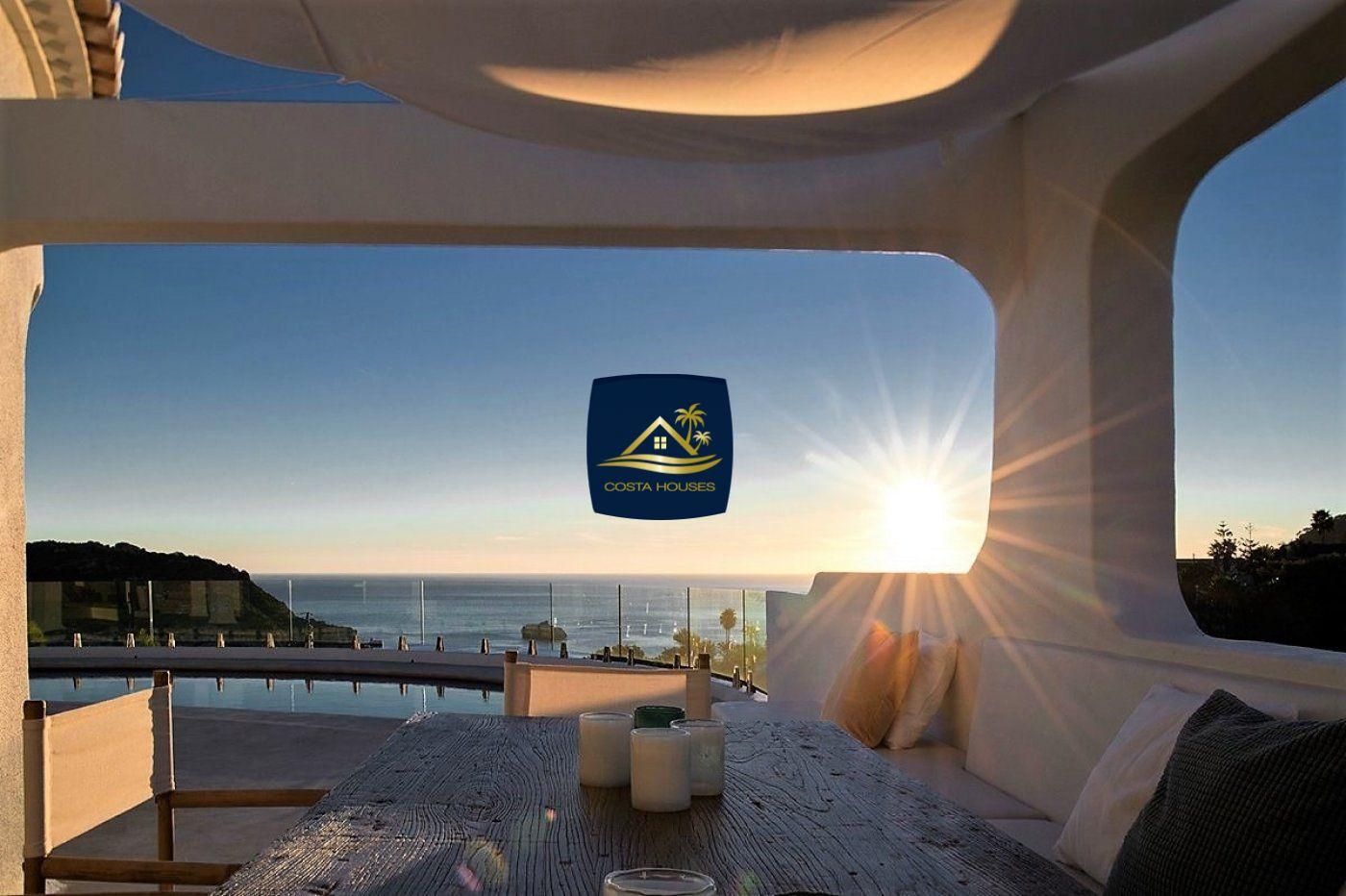 Villa de Lujo estilo IBIZA con Acceso directo al MAR en Moraira · EL PORTET | COSTA HOUSES Luxury