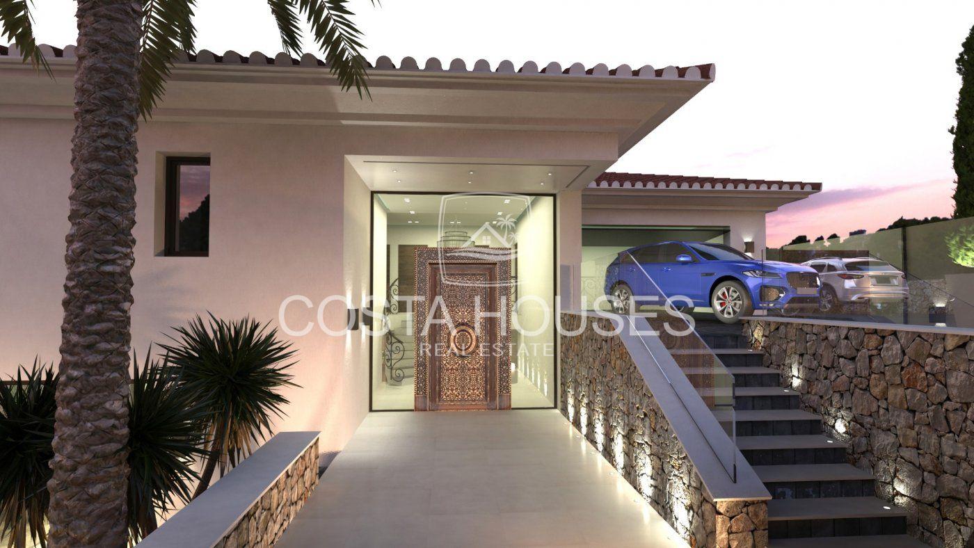 Villa De Lujo Nueva Construcción frente al Mar en Javea | Spa · 2Piscinas · Ascensor · VISTAS al MAR