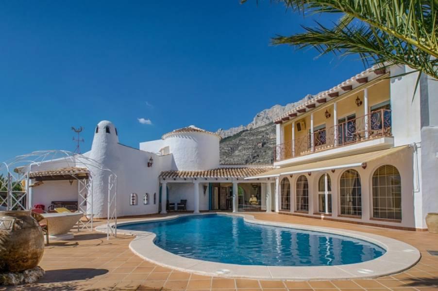 Real Estate Agents Altea - Properties for sale in Altea - villa - altea