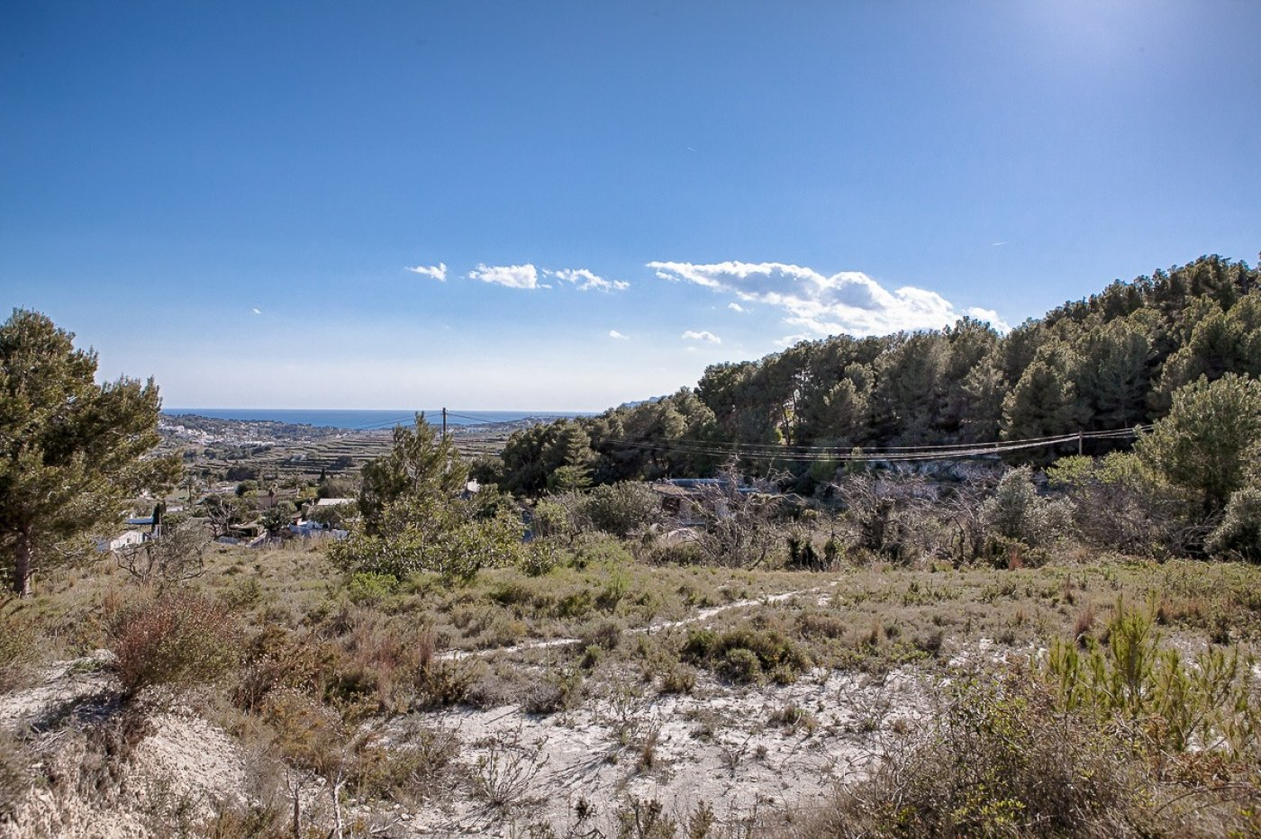 plot en benitachell · moraira 360000€