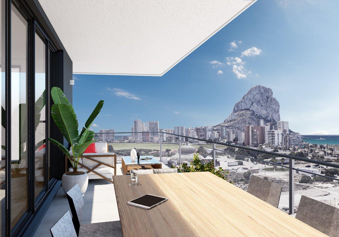 apartment en calpe · saladar 249000€