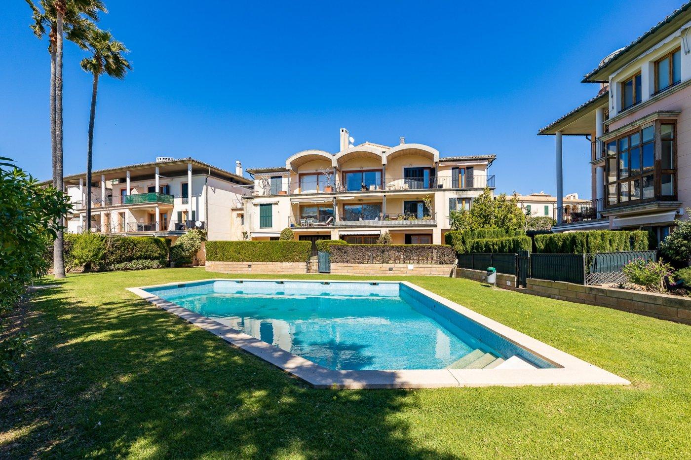 Zona colegios. arabella park. se vende atico con piscina comunitaria. palma mallorca - imagenInmueble25