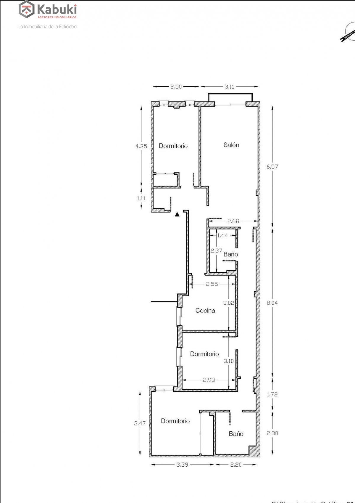 Precioso apartamento con encanto, para entrar, en una bonita zona residencial a 10 min de  - imagenInmueble6