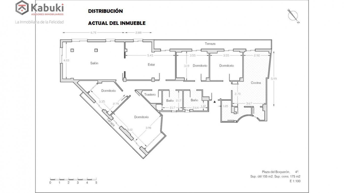 Dos en uno. gran piso familiar fácilmente divisible ya que son dos fincas registrales dife - imagenInmueble3
