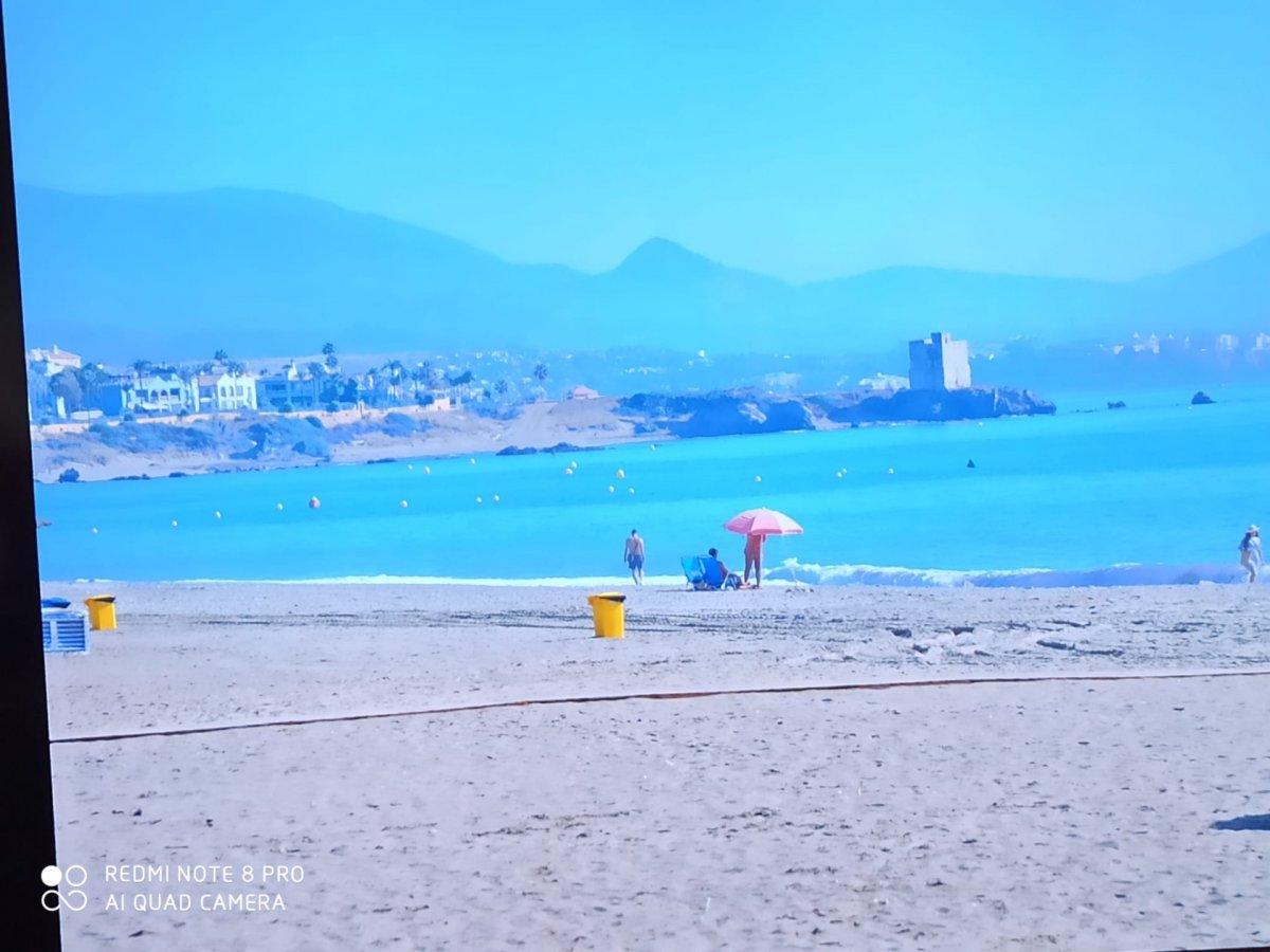 Piso en venta en Sabinillas primera línea de playa, Manilva