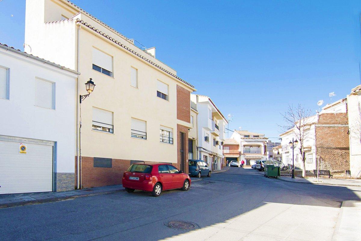 En el centro de Alhendín, Granada