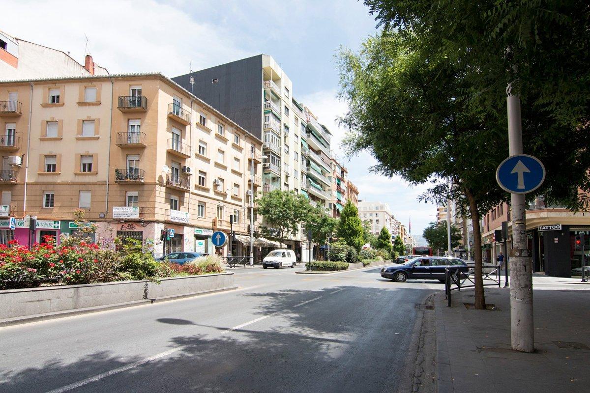 Camino de Ronda junto Recogidas, Granada