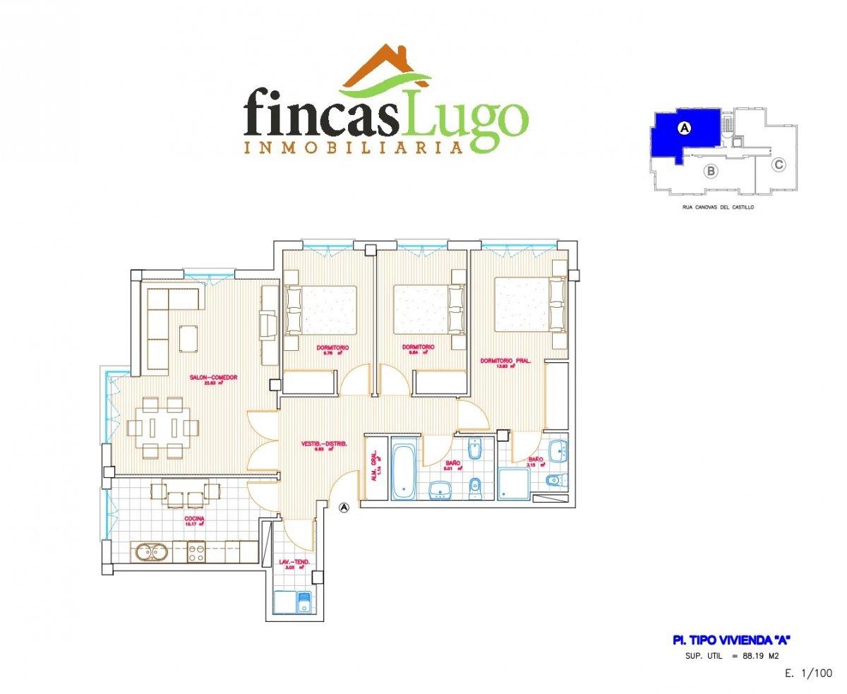Apartamento, Augas Férreas, Venta - Lugo (Lugo)
