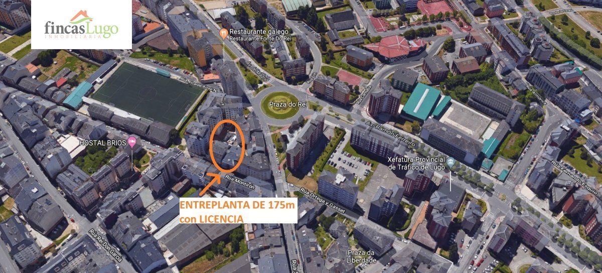 Oficina en alquiler en Fonte Do Rei, Lugo