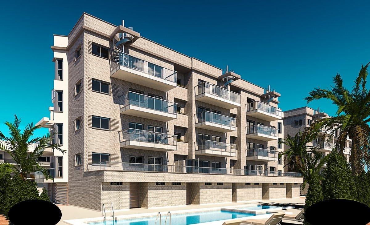 Obra nueva a solo 100m playa de Oliva - Apartamento en Oliva