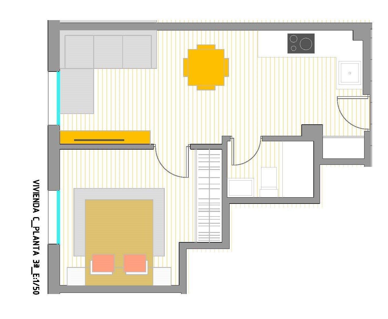 apartamento en murcia · patino 62900€