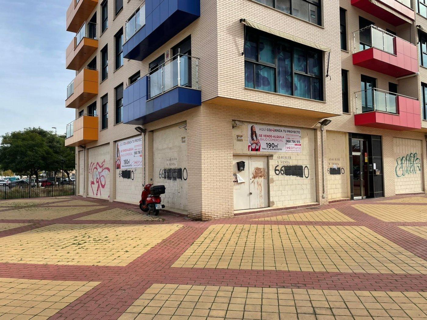 local-comercial en murcia · ronda-sur 190000€