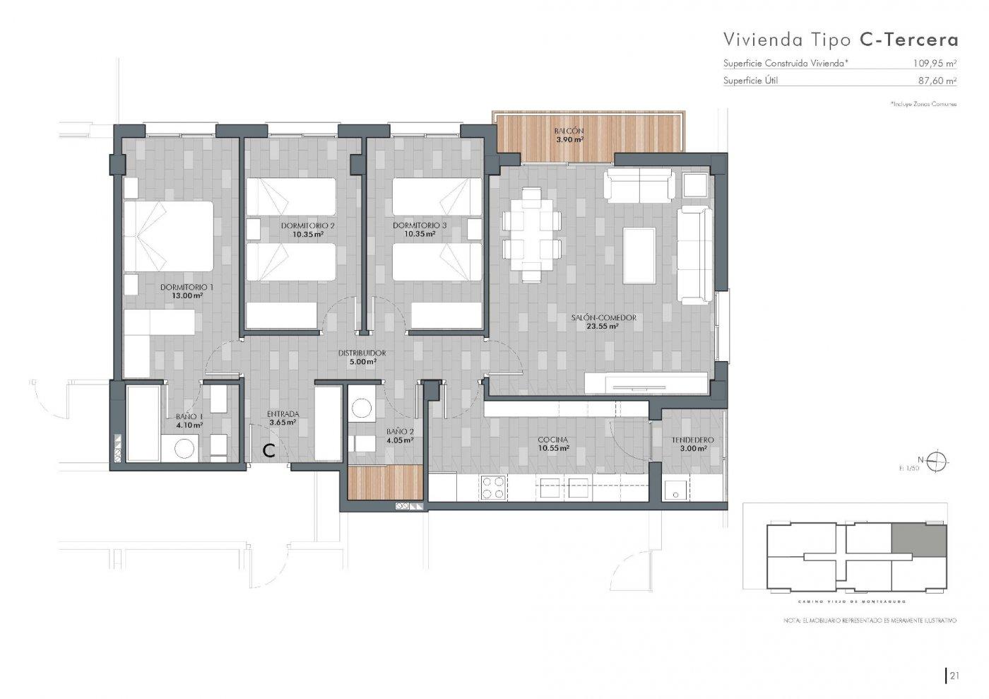 piso en barrio-del-progreso · centro 125000€