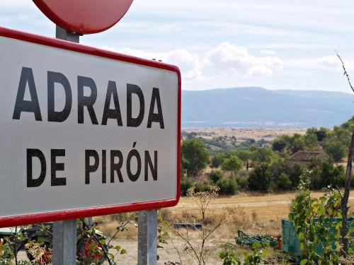 Parcela rústica en venta en Adrada de Pirón