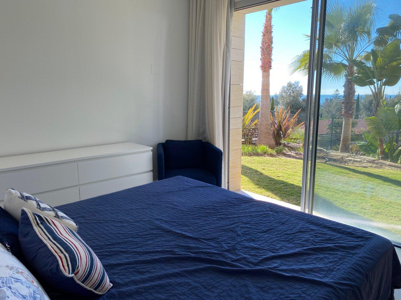 Villa with panoramic views over the sea in La Finca de Marbella