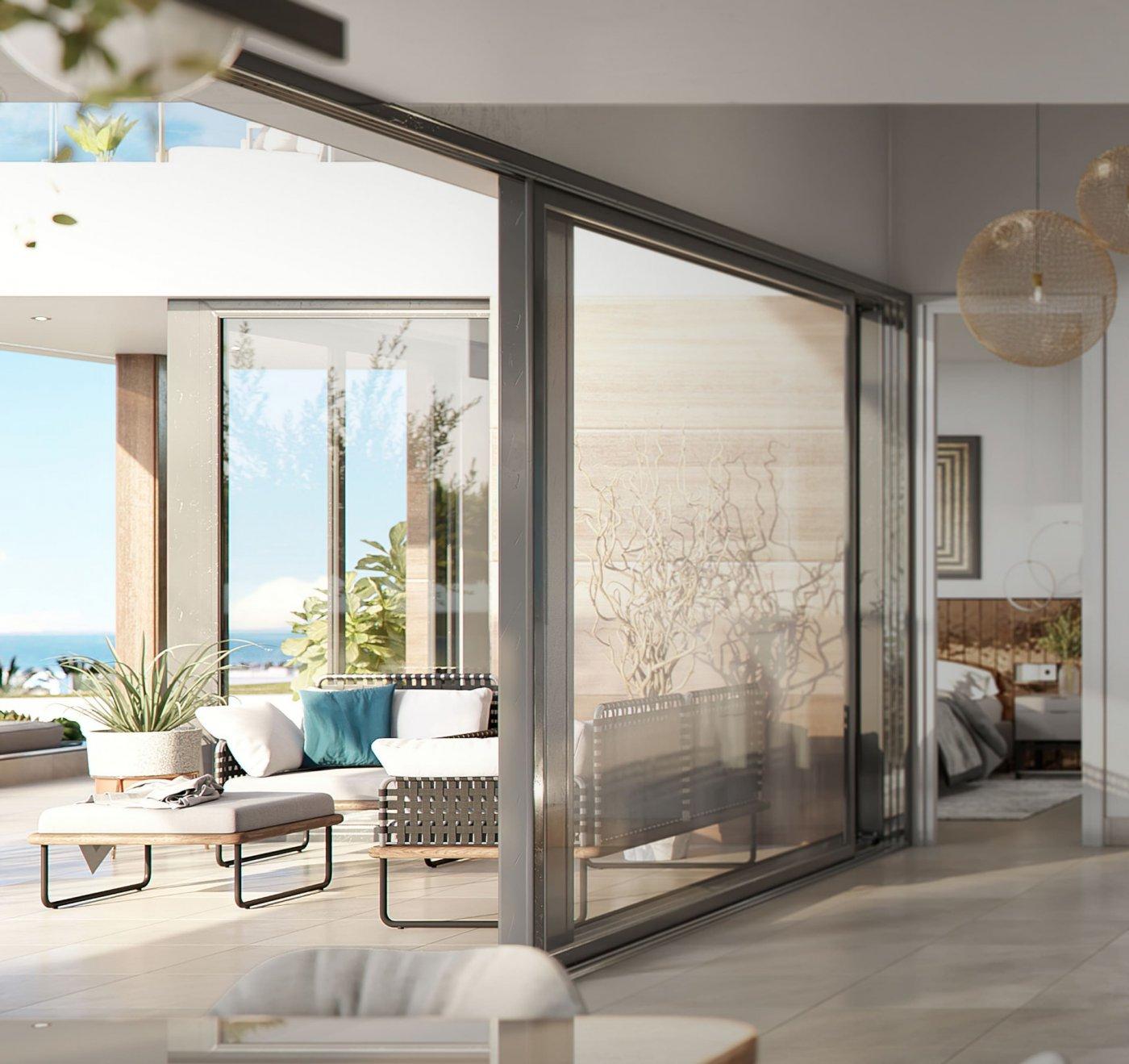 New Villa in Estepona with sea views