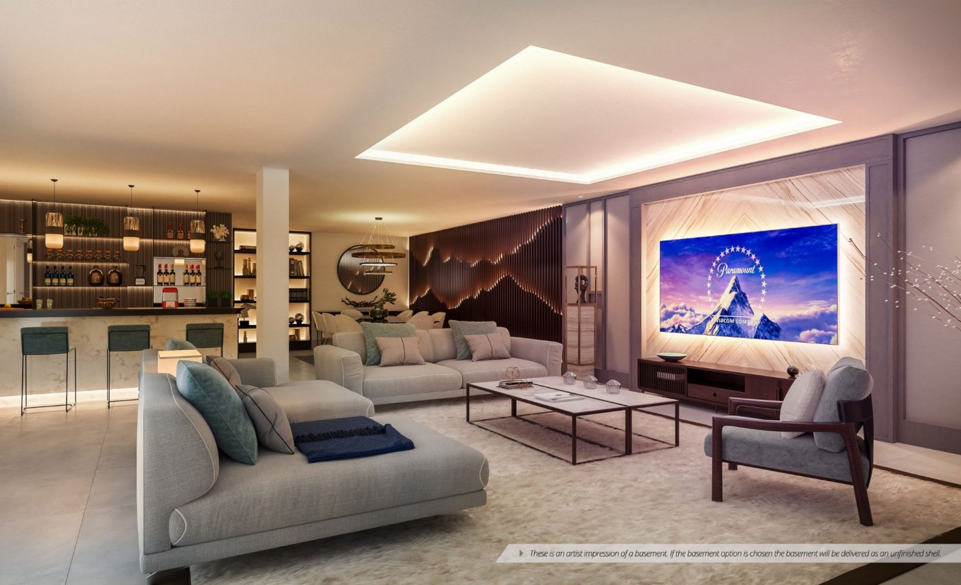 New Villa with sea and mountain views in Marbella, Rio Real