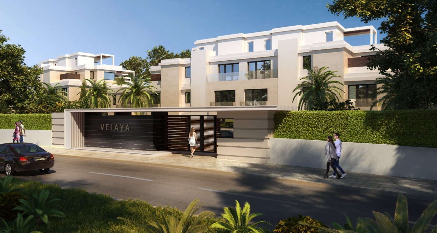 Exclusive residences by the sea. First front line beach.