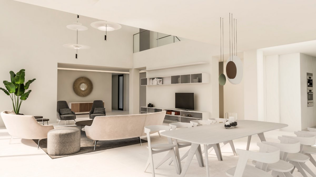 High quality contemporary villa, in the heart of the Golf Valley, Nueva Andalucia
