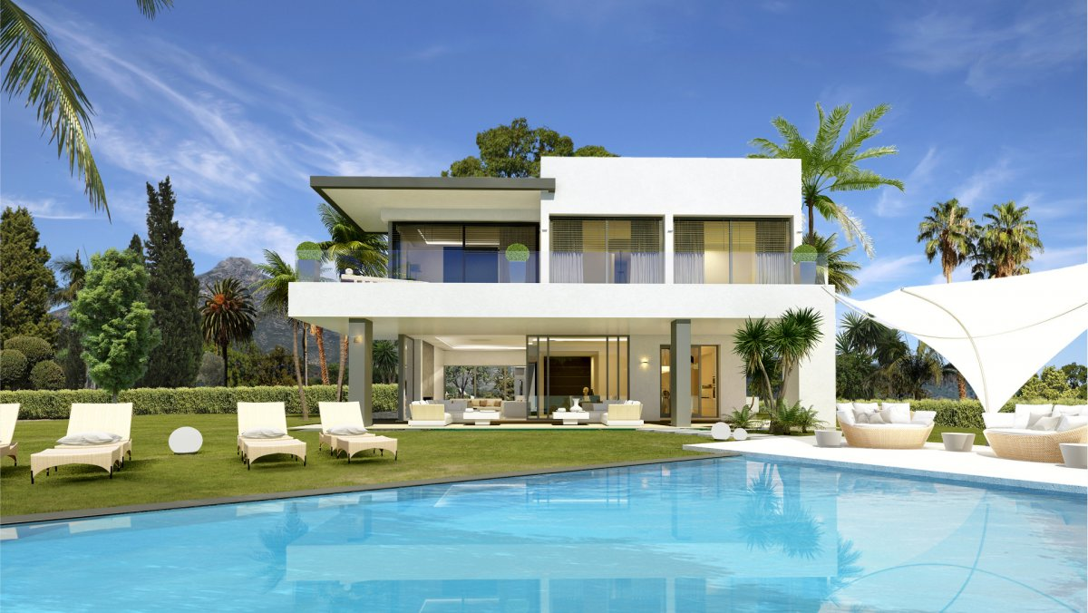 Modern villa on the Golden Mile