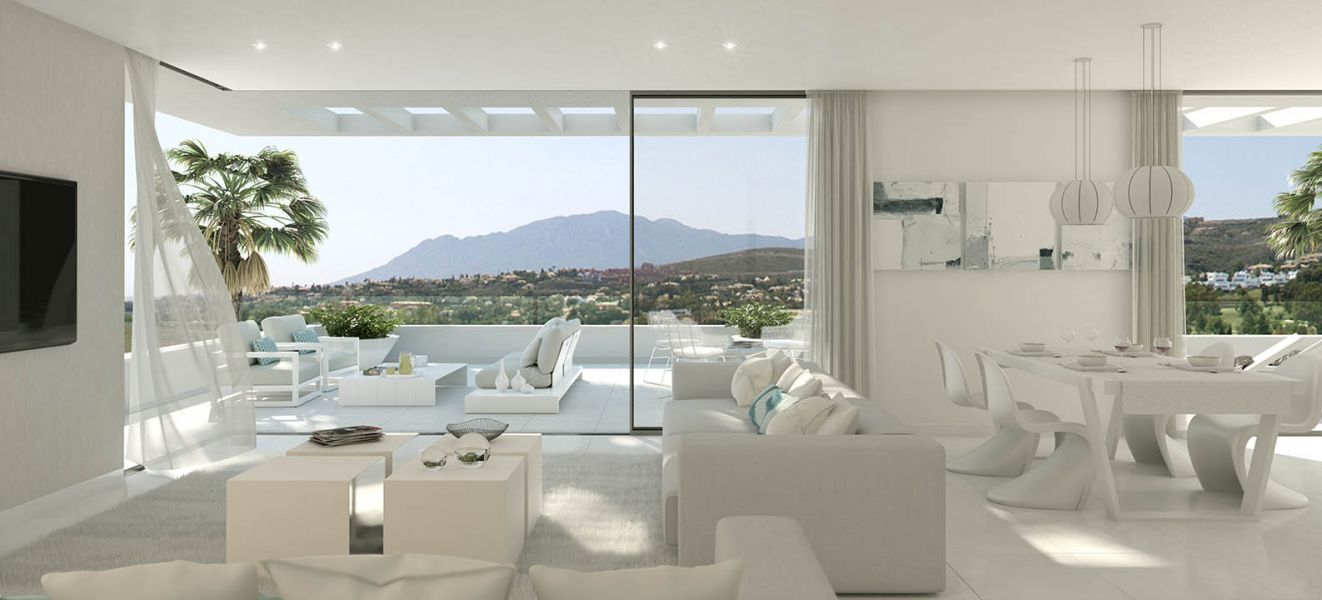 Contemporary 3 bedroom apartment in Atalaya Golf