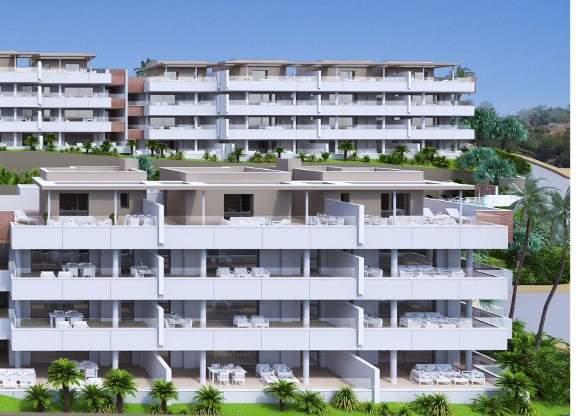 New development comprises 92 bright and spacious 3 bedroom homes, with incredible large terraces