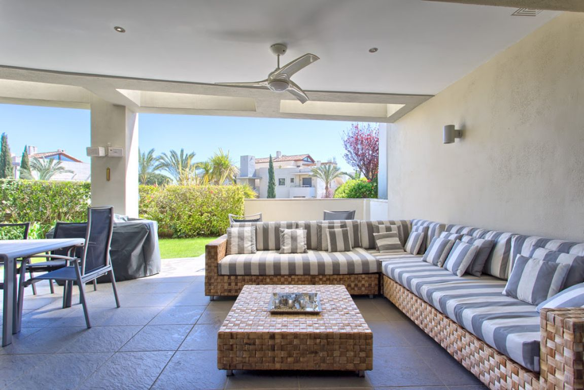 apartment duplex with privite garden Marbella Sierra Blanca