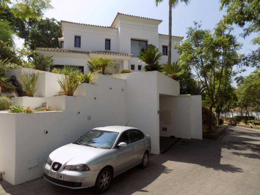 Villa on Golden Mile, Marbella.