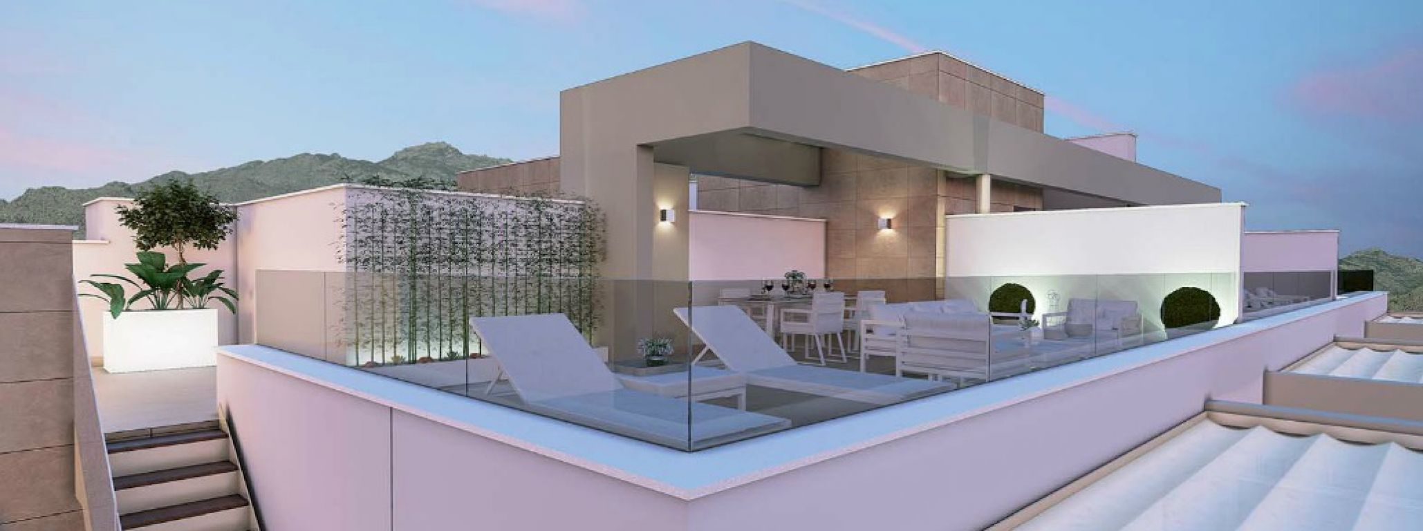 Exclusive penthouse in La Cala de Mijas.