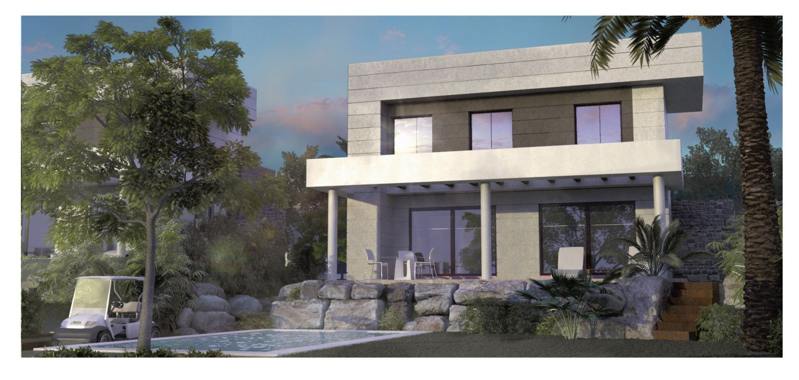 Villa in Mijas Coast off-plan