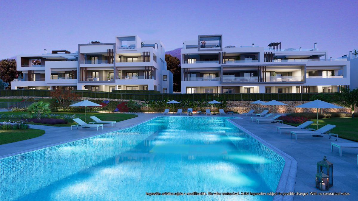 Elegant properties by the beach on Costa del Sol