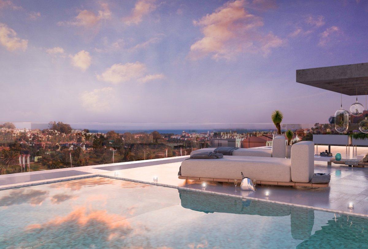 Fabulous Duplex Penthouse  in The New Golden Mile, Estepona