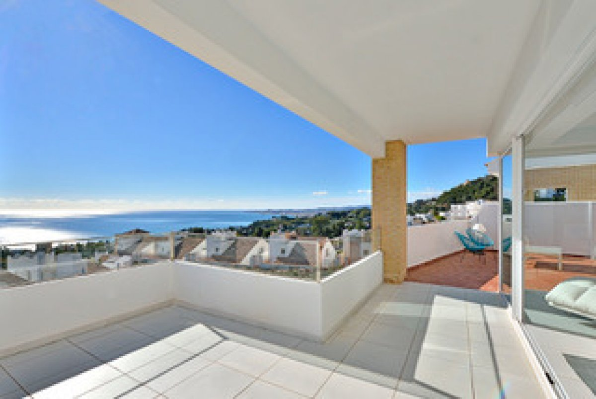 Luxury detached house with amazing views in Benalmadena